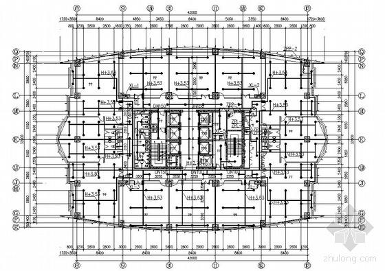 上海某二十四层综合楼给排水设计图