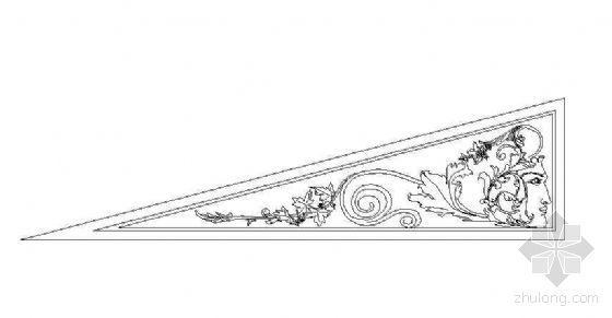 欧式雕花图块36