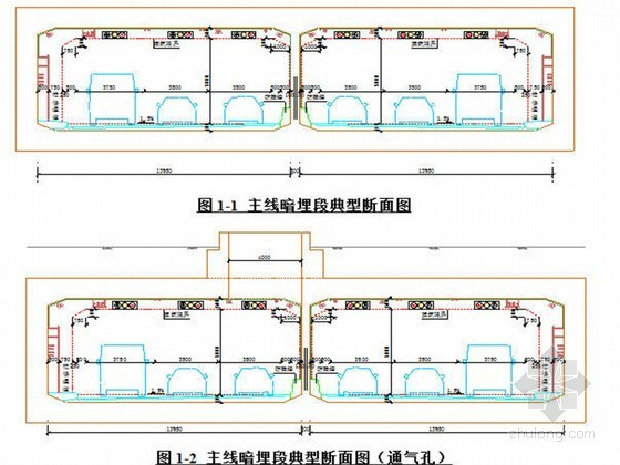 u型槽侧墙模板方案资料下载-地道主体混凝土结构模板专项方案(附图丰富 含计算书)