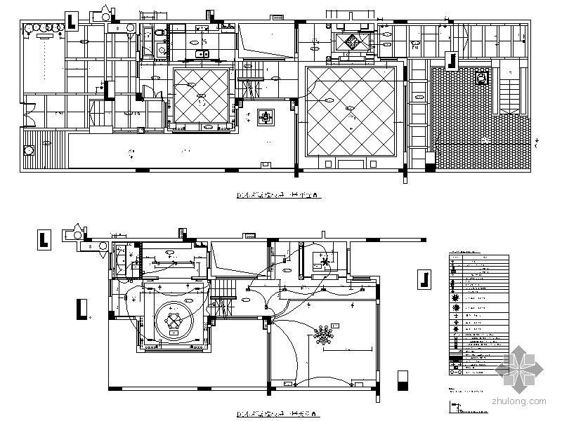 [深圳]知名别墅样板房施工图(含别墅)米图纸v别墅米x89实景图片