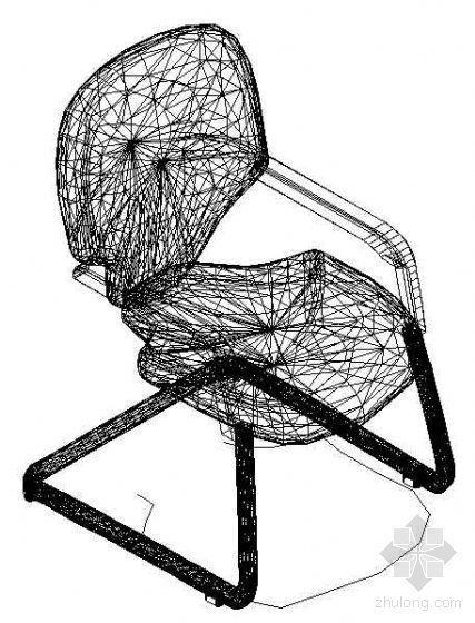 办公家具CAD模型24