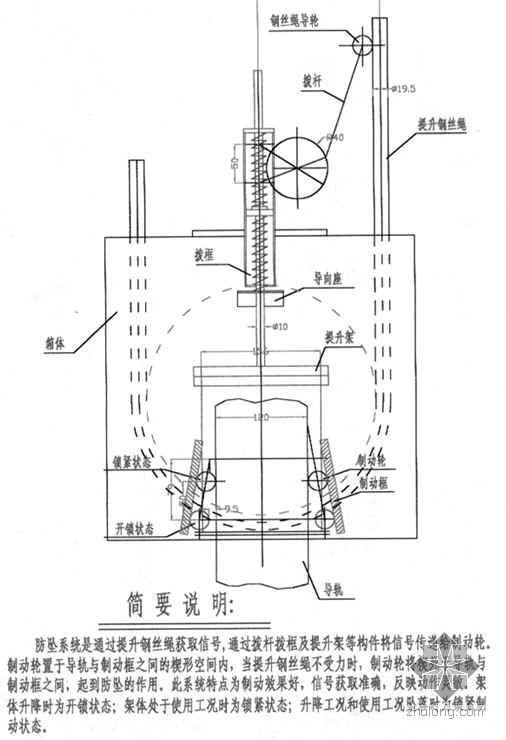 [唐山]钢铁厂焦化工程煤塔导轨式爬架施工方案(详图丰富 附计算书)