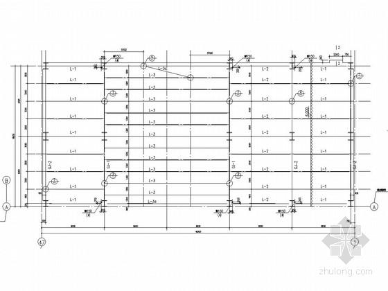 钢框架结构轻钢别墅设计施工图