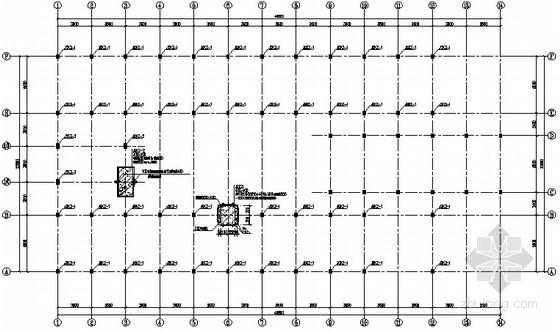 污水厂综合楼增层扩建加固施工图