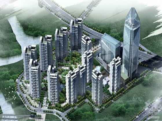 [重庆]某国际中心区建筑方案文本