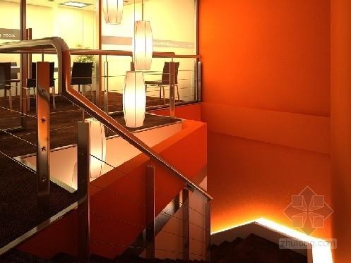 办公室楼梯一角
