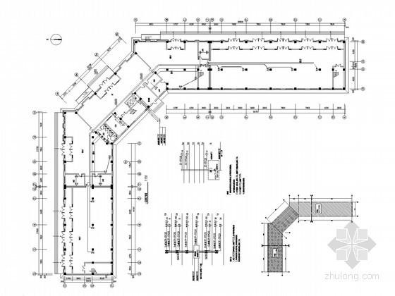 [哈尔滨]热网工程集控综合办公楼全套电气施工图纸