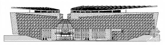 松江某文化活动中心幕墙设计施工图