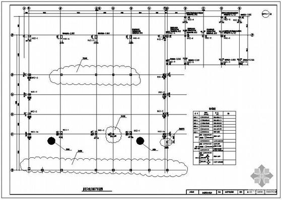 北京某四层连接体多功能体扩建工程钢结构设计图