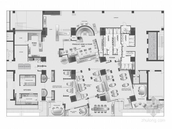 [海南]中心地带全球顶级奢华七星级酒店设计方案