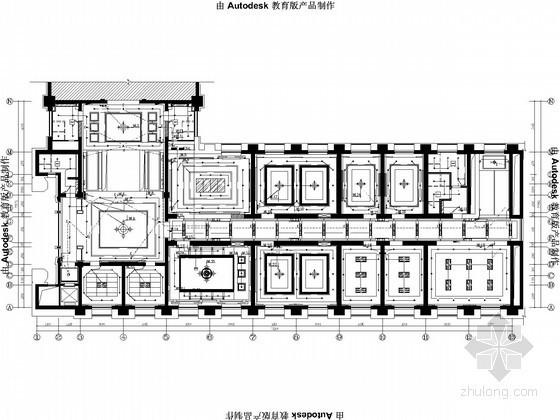 俱乐部办公和文体活动楼改造工程电气设计图纸