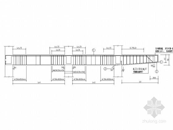 [学士]五层框架结构教学综合楼结构施工图(含建施)