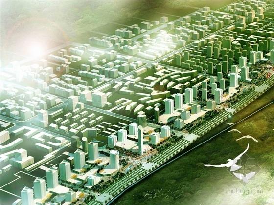 [西安]著名城市生态人文迎宾大道景观规划设计方案