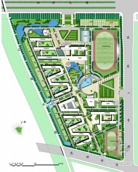 [南京]大学校园整体景观改造设计(含CAD方案)