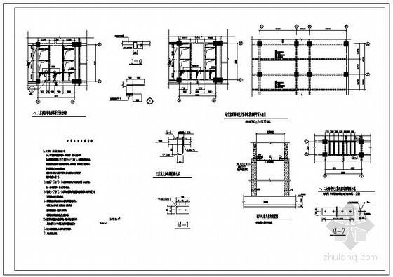某商场改餐厅结构加固设计图