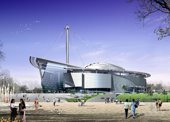[云南]钢结构羽毛球馆及多功能厅改扩建工程结算书(全套图纸)
