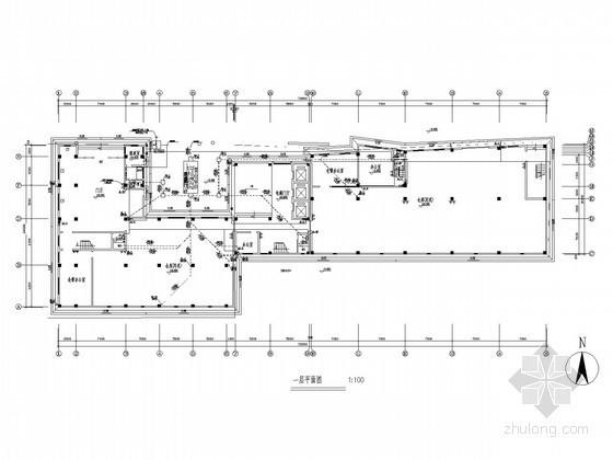 库房楼建筑给排水施工图