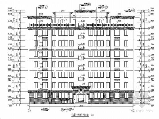[河南]七层砖混结构住宅楼建筑结构施工图(最新出图)