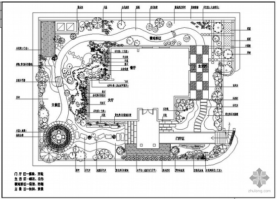 珠海某别墅花园景观设计