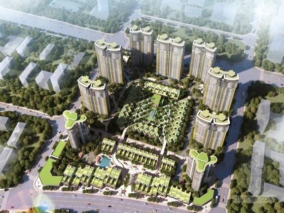 [浙江]高层住宅区规划设计方案文本