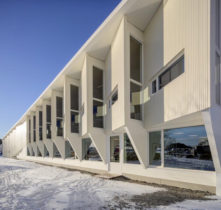 挪威格里姆斯塔德图书馆-2