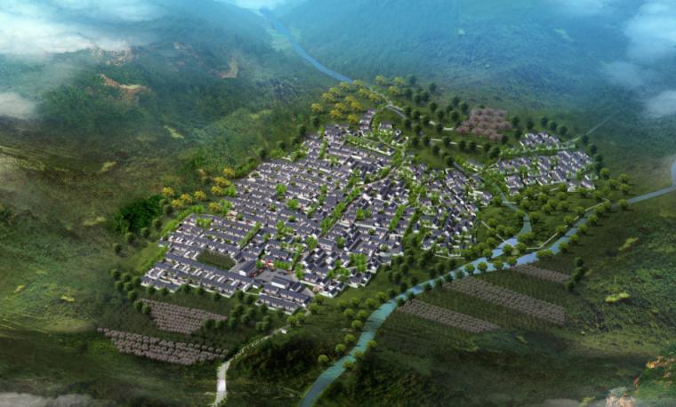 [河北]保定市某村庄改造规划设计方案文本