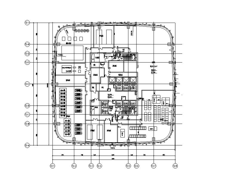 上海塔楼及地库电气施工图(附塔楼负荷计算书)