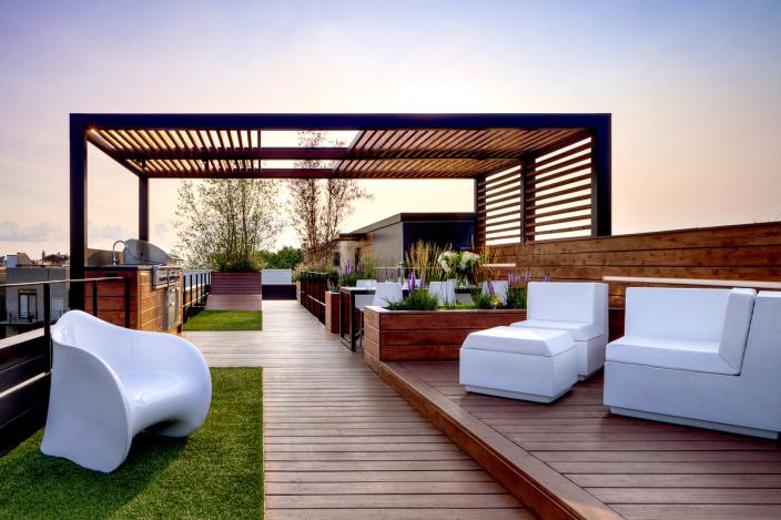 美国景观屋顶平台