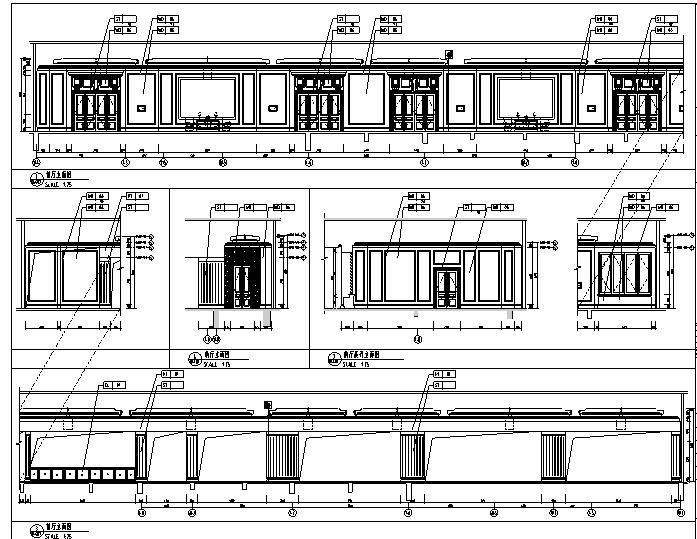 12600平方米酒店空间设计施工图(附效果图)_3