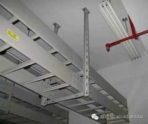 电缆桥架及金属线槽安装施工