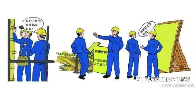 建筑施工安全规范图解,图文并茂,用作安全教育再合适不过!_24