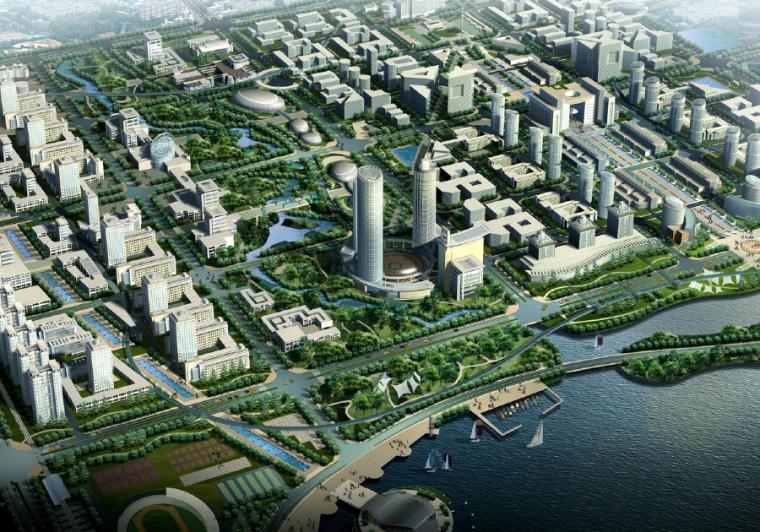 [吉林]长春市南部中心城区发展规划设计方案文本