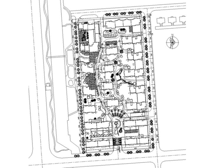 [浙江]杭州东海居住区景观设计CAD施工图 (PSD效果图,文本,概算)