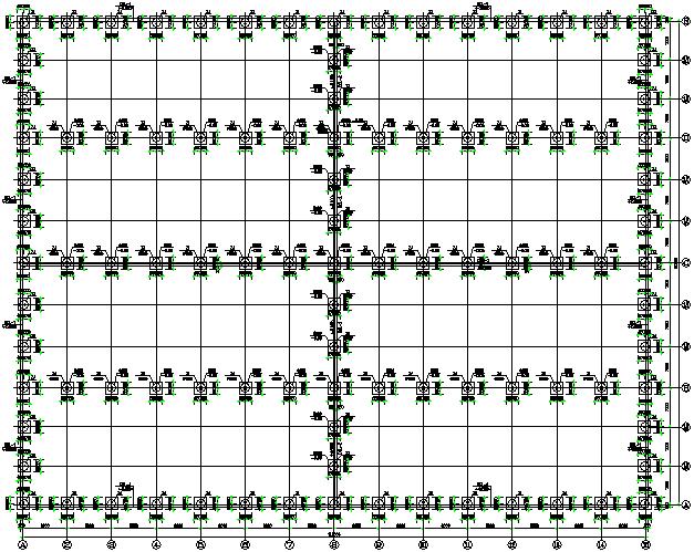 成都门式刚架钢结构工程施工图(CAD,全套)_1