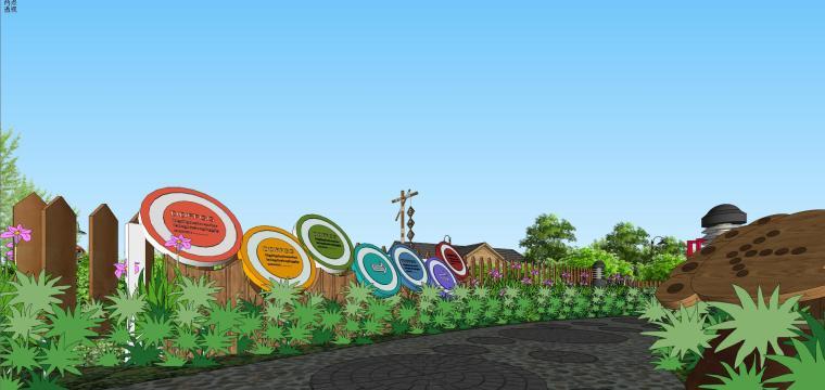 城市生态农业园民宿景观设计 7