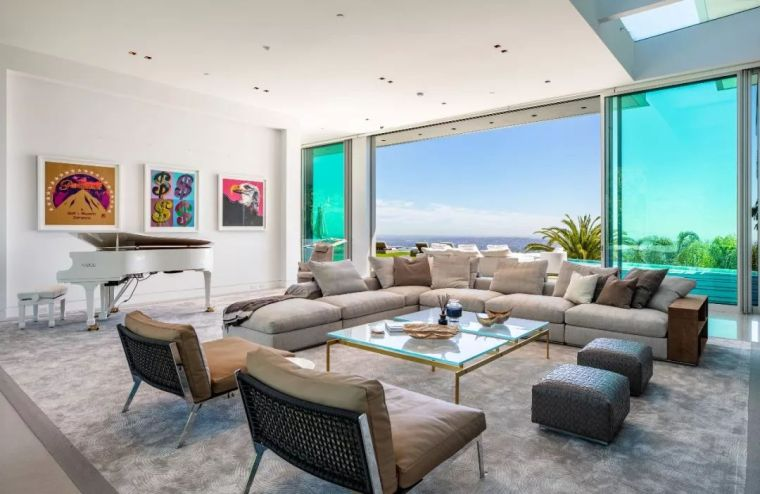 3.98亿的超级山顶豪宅,无比奢侈的观景台_38
