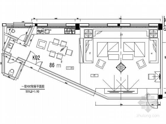 [浙江]高端娱乐会所14套包厢装修施工图(含实景)