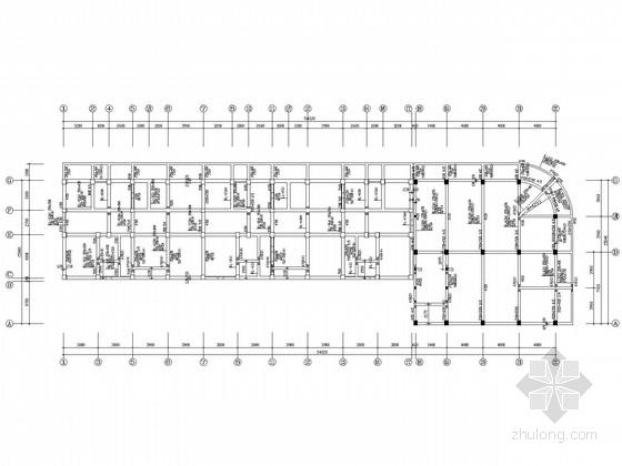 带阁楼底框剪力墙住宅结构施工图