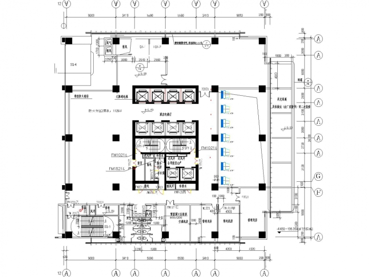 vrv多联机空调系统设计资料下载-[重庆]超高层综合楼空调通风系统设计施工图
