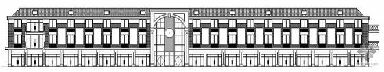 [青州]某商业中心三号商业楼建筑结构水电施工图