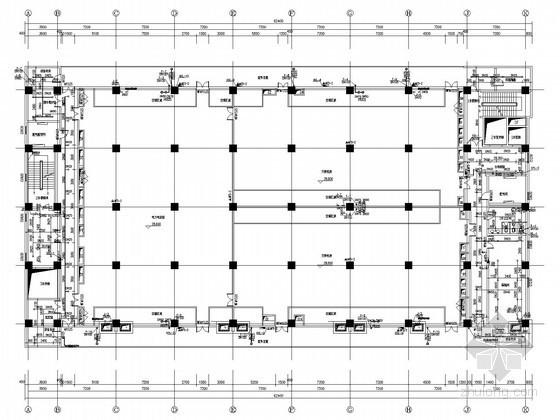 [廣西]產業園生產樓給排水消防施工圖(冷卻塔補水系統 空調凝結水系統)