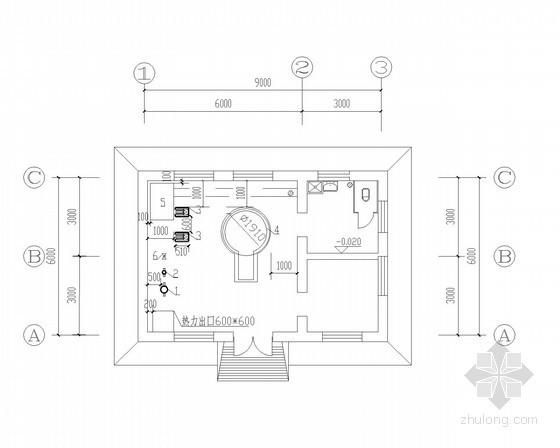 常压热水锅炉全套施工图