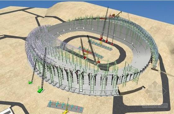 大型体育中心工程依山建造关键施工技术总结(140页 附图多 岩溶地质)