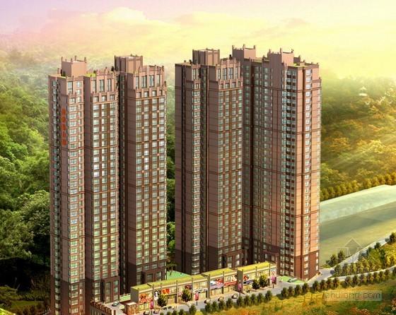 [南京]住宅小区建筑安装工程量清单报价实例(全套图纸)