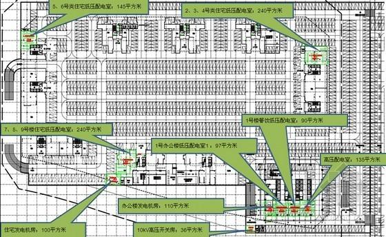 [广东]商业区机电方案设计(2014最新设计规范)