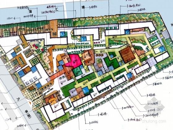 [上海]青年家园型居住区景观规划设计方案