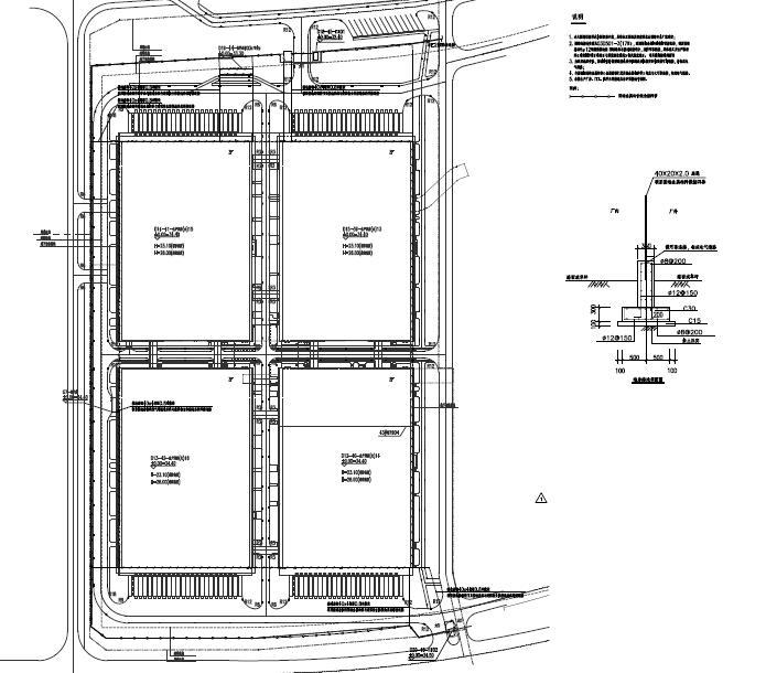 华为南方工厂机电设备施工图