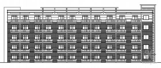 某公司集团五层宿舍建筑结构施工图