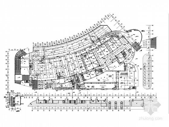 [浙江]一类高层超五星级酒店全套电气施工图纸(地下三层,4000车位)