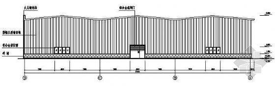 19米跨桁架式钢架施工图纸